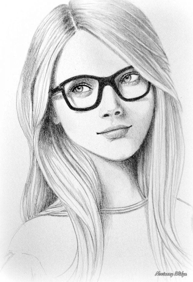 Красивые фото парень и девушка рисунок карандашом006