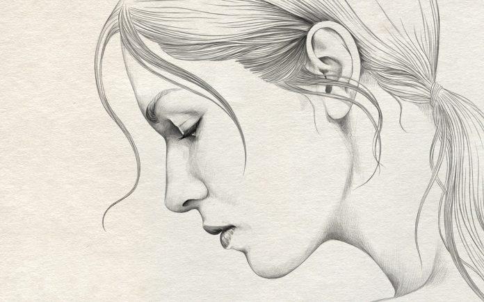 Красивые фото парень и девушка рисунок карандашом015