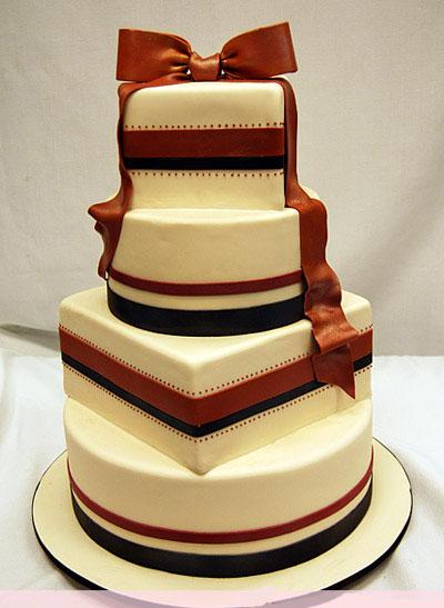 Красивые фото свадебного торта в осеннем стиле (17)