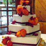 Красивые фото свадебного торта в осеннем стиле