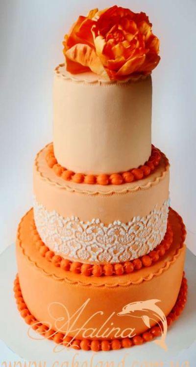 Красивые фото свадебного торта в осеннем стиле (21)