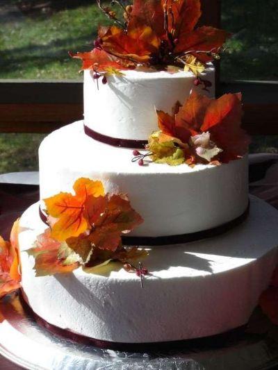 Красивые фото свадебного торта в осеннем стиле (22)