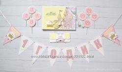 Красивый конверт для пожеланий на 1 годик012