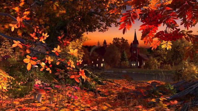 Красивый фон на рабочий стол осень на весь экран (12)