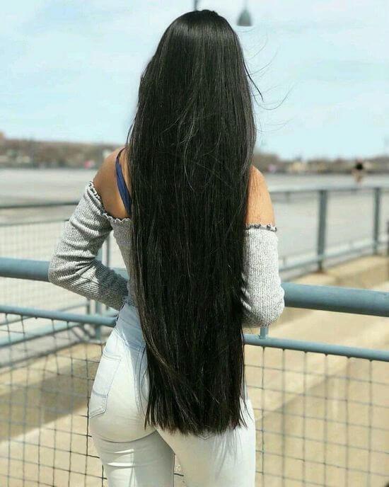 Красивыке картинки на аву девушек с черными волосами без лица (9)