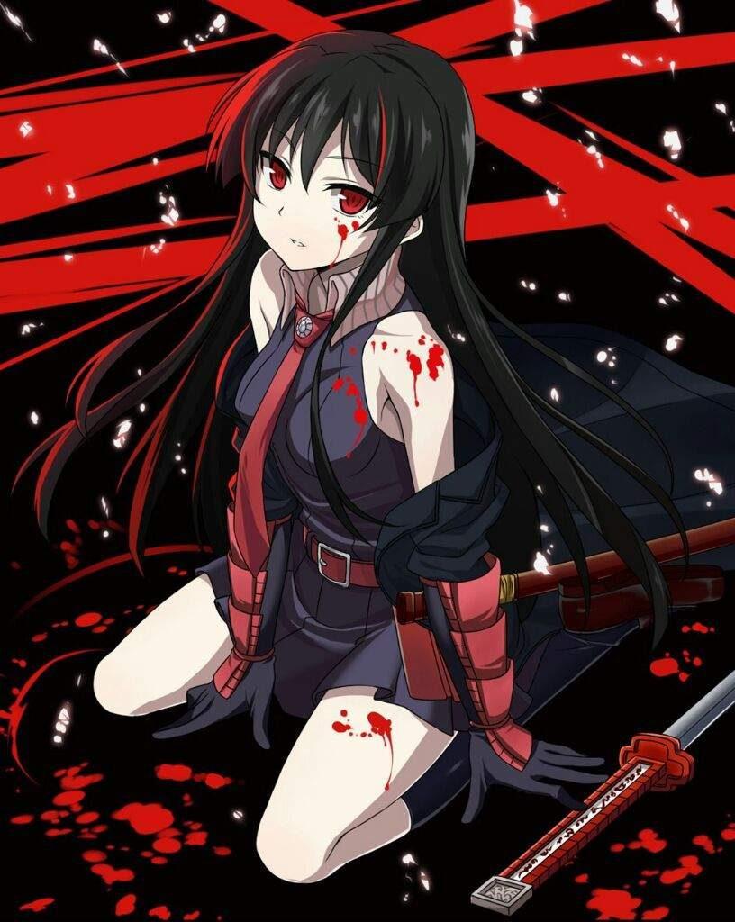 Кровавый аниме арт - лучшие изображения (12)
