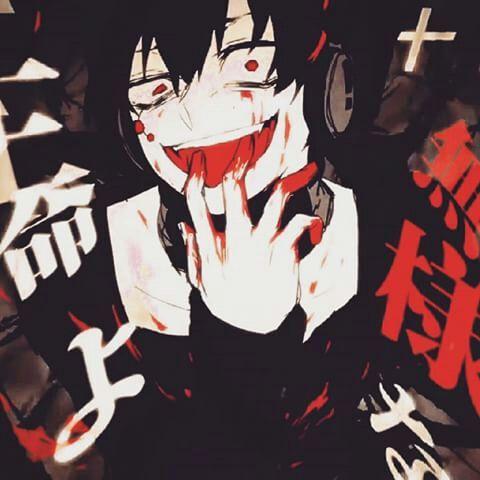 Кровавый аниме арт - лучшие изображения (5)