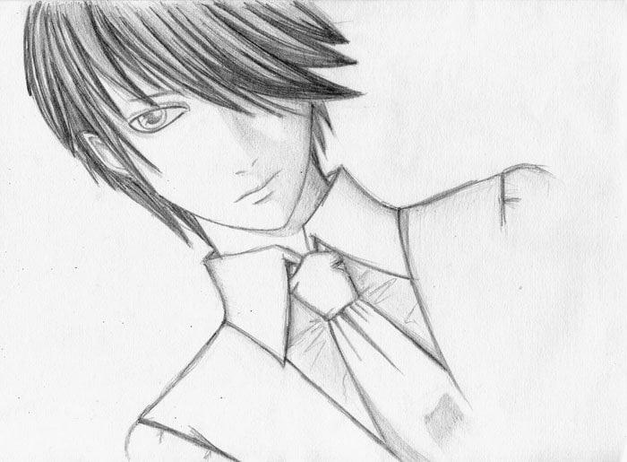 Крутые и классные рисунки аниме005