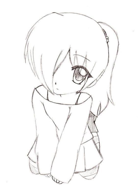 Крутые и классные рисунки аниме006