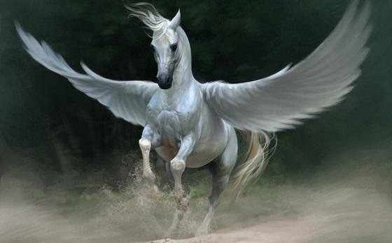 Лошади картинки волшебные001