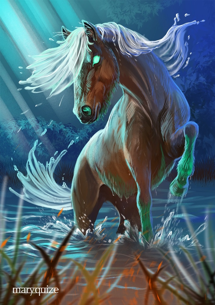 Лошади картинки волшебные004