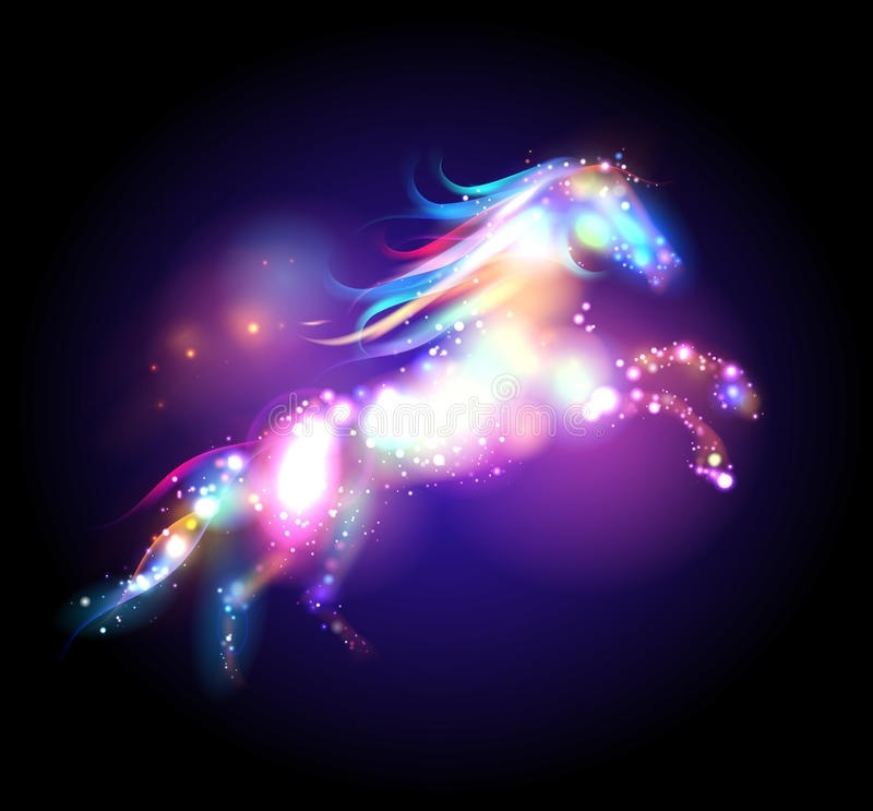 Лошади картинки волшебные009