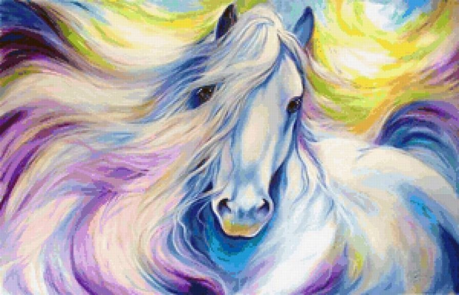 Лошади картинки волшебные014