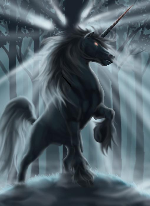 Лошади картинки волшебные019