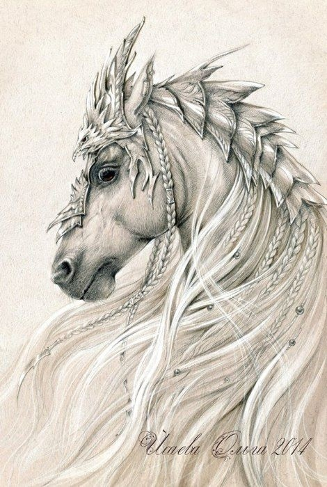 Лошади картинки волшебные021