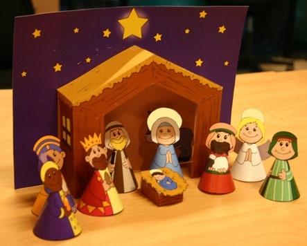Лучшие поделки на рождественскую тему своими руками002