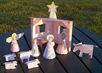Лучшие поделки на рождественскую тему своими руками010