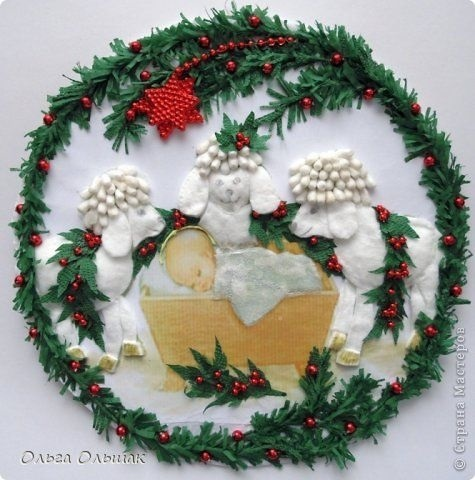 Лучшие поделки на рождественскую тему своими руками018