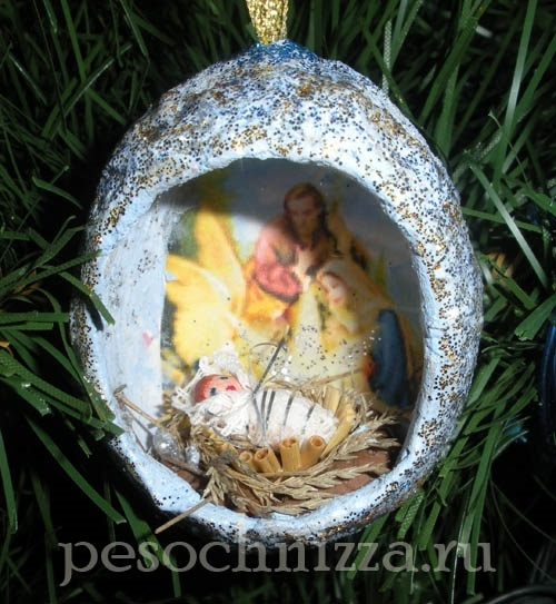 Лучшие поделки на рождественскую тему своими руками020
