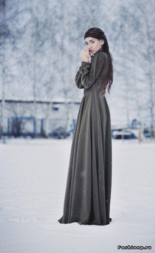 Лучшие позы для фотосессии зимой на улице - 35 фото (15)