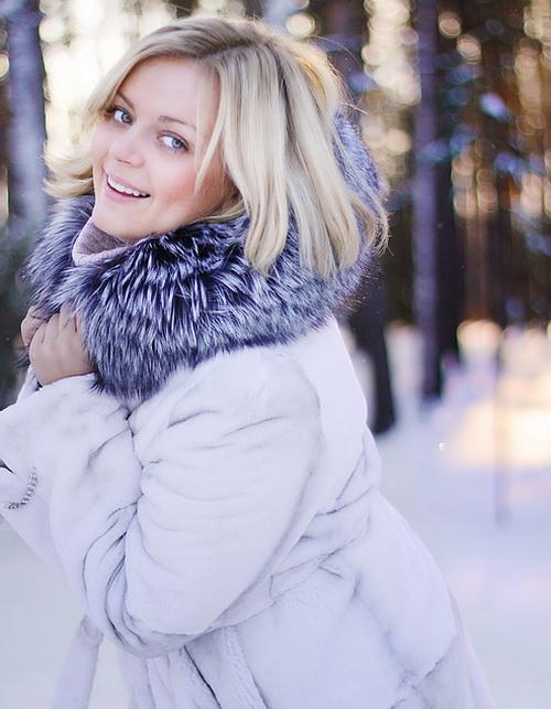 Лучшие позы для фотосессии зимой на улице - 35 фото (2)