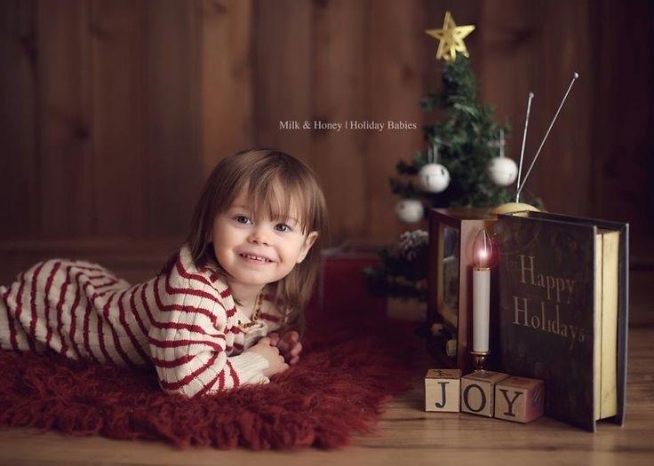 Лучшие фотосессии новогодние детей007