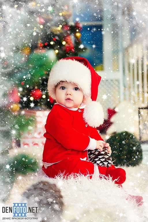 Лучшие фотосессии новогодние детей010