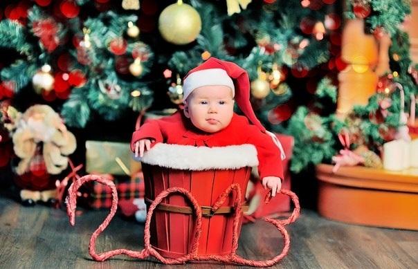Лучшие фотосессии новогодние детей015