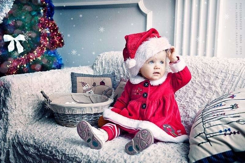 Лучшие фотосессии новогодние детей017