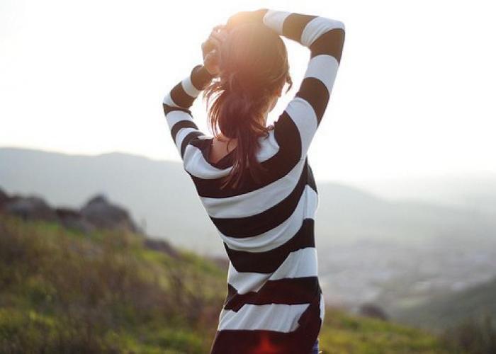 Лучшие фото на аву девушек со спины осень на аву (10)