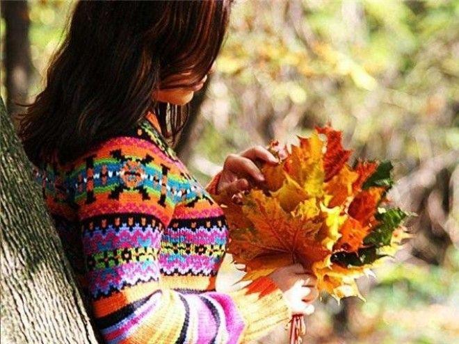 Лучшие фото на аву девушек со спины осень на аву (3)