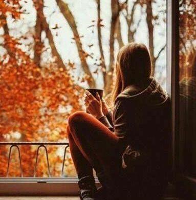 Лучшие фото на аву девушек со спины осень на аву (9)