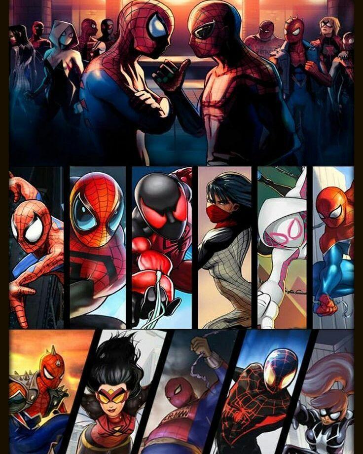 Марвел картинки человек-паук - классные арты (11)