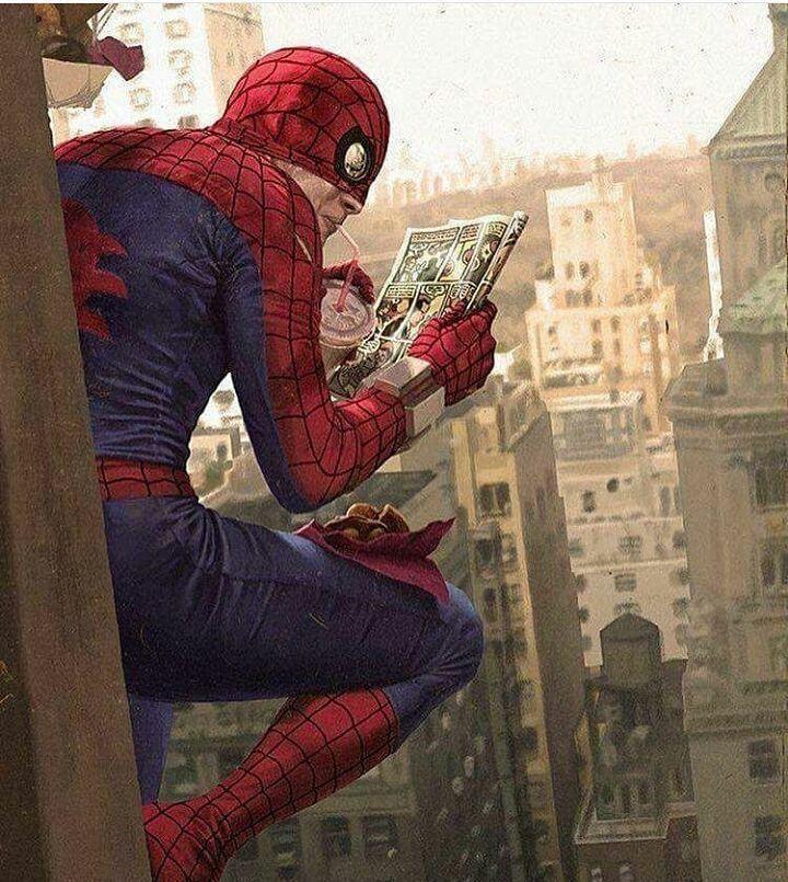 Марвел картинки человек-паук - классные арты (12)