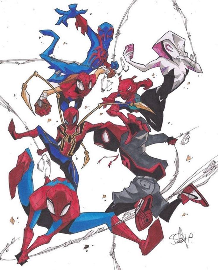 Марвел картинки человек-паук - классные арты (15)