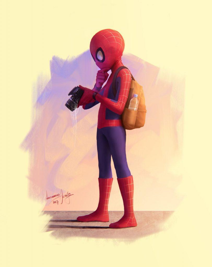 Марвел картинки человек-паук - классные арты (16)