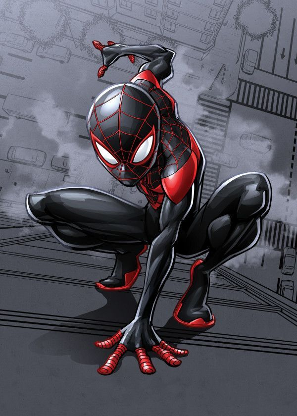 Марвел картинки человек-паук - классные арты (19)