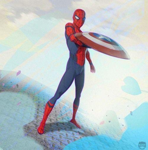 Марвел картинки человек-паук - классные арты (2)
