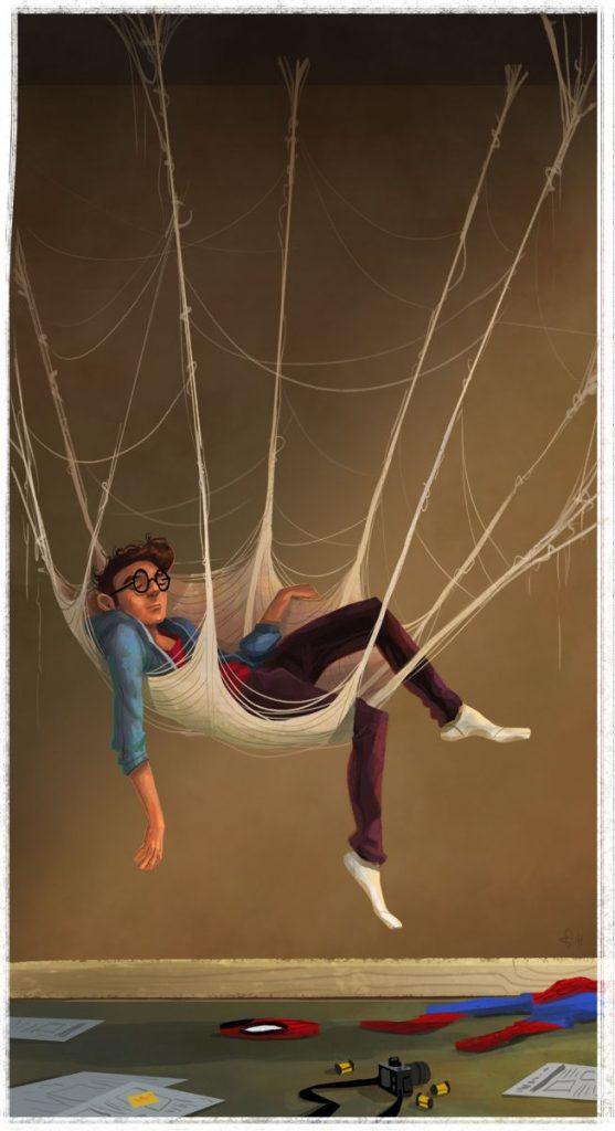 Марвел картинки человек-паук - классные арты (20)