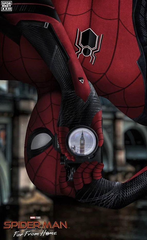 Марвел картинки человек-паук - классные арты (22)