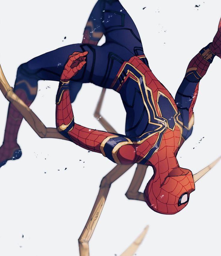 Марвел картинки человек-паук - классные арты (23)