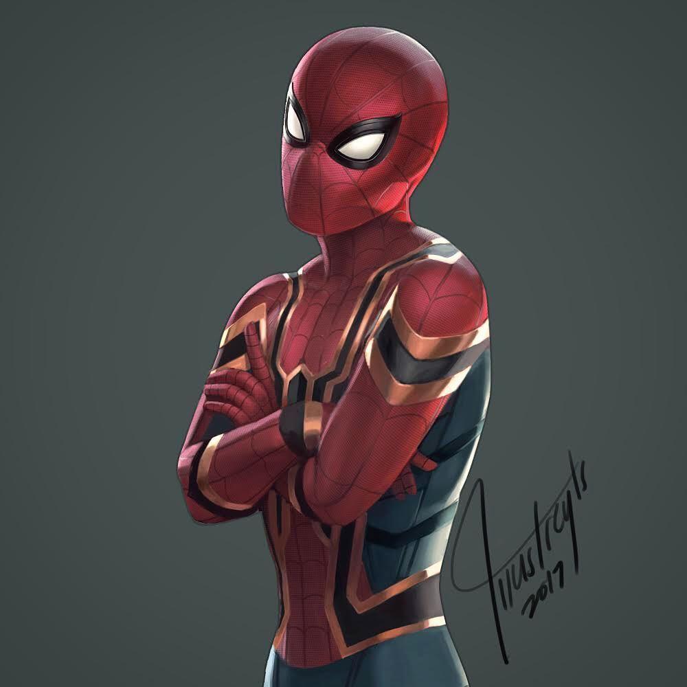 Марвел картинки человек-паук - классные арты (26)