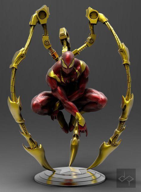 Марвел картинки человек-паук - классные арты (32)