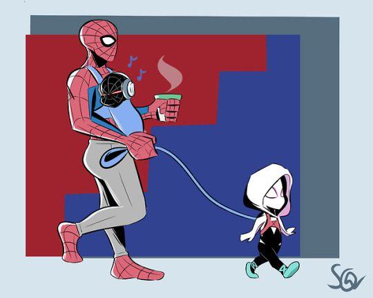Марвел картинки человек-паук - классные арты (5)