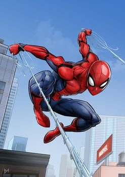 Марвел картинки человек-паук - классные арты (7)