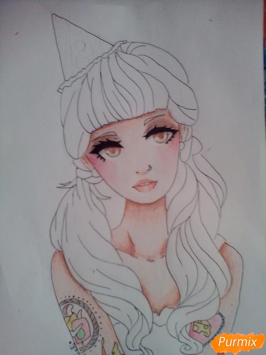 Мелани Мартинес раскраски очень классные   подборка (10)