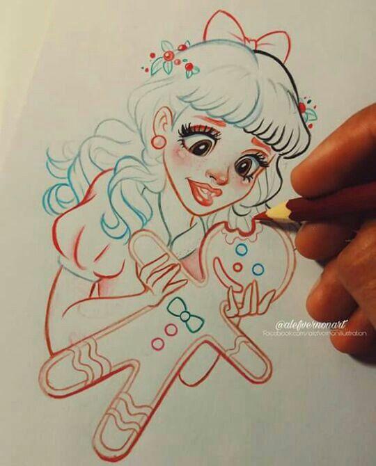 Мелани Мартинес раскраски очень классные - подборка (2)