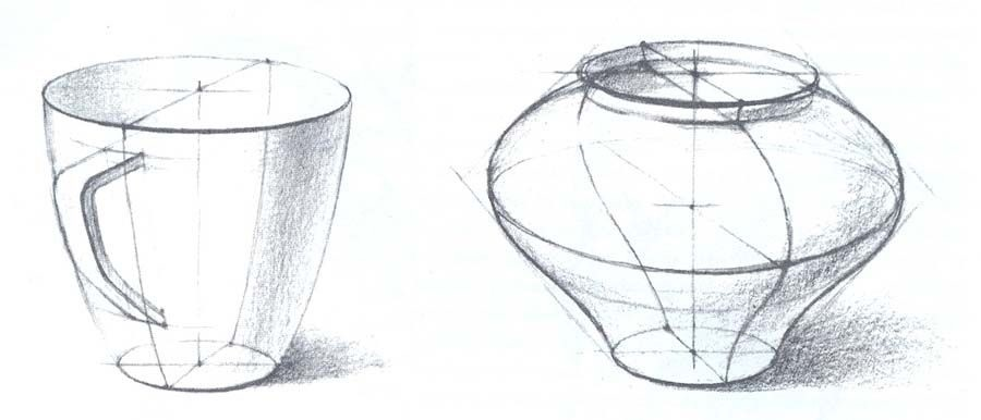 Микеланджело рисунки карандашом для детей002