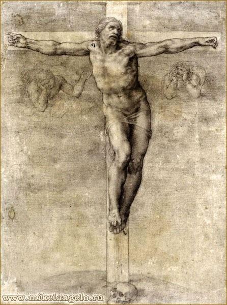 Микеланджело рисунки карандашом для детей006