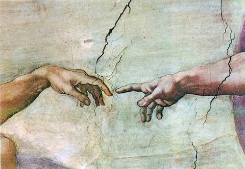 Микеланджело рисунки карандашом для детей007